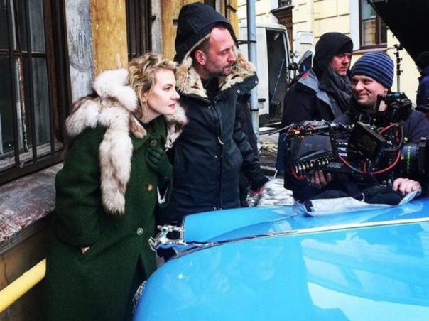 Рената Литвинова приступила к съемкам новеллы о Бродском в Петербурге