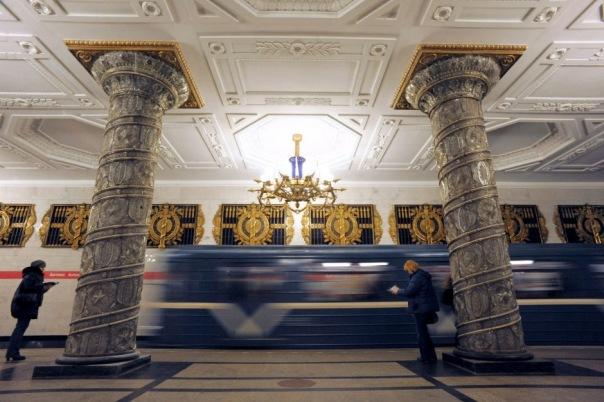 Телеканал Discovery снимает фильм о петербургском метрополитене