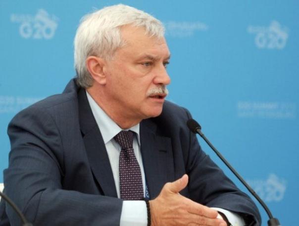 Губернатор Петербурга Георгий Полтавченко ушёл в отпуск до 8 марта