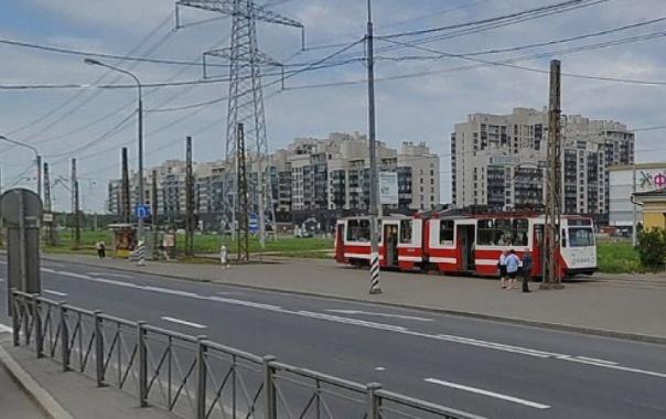 Трамвайное движение по Петергофскому шоссе закроют на 3 месяца