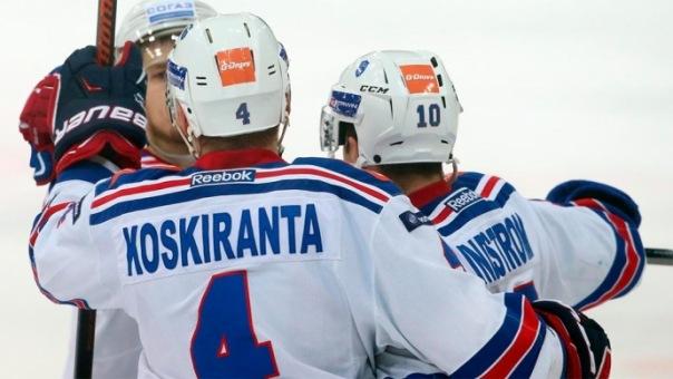 СКА сравнял счет в серии против Локомотива в плей-офф Кубка Гагарина