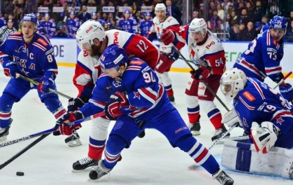 СКА увеличил преимущество в серии с Локомотивом