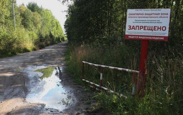 В Неву попали токсичные отходы из-за прорыва дамбы