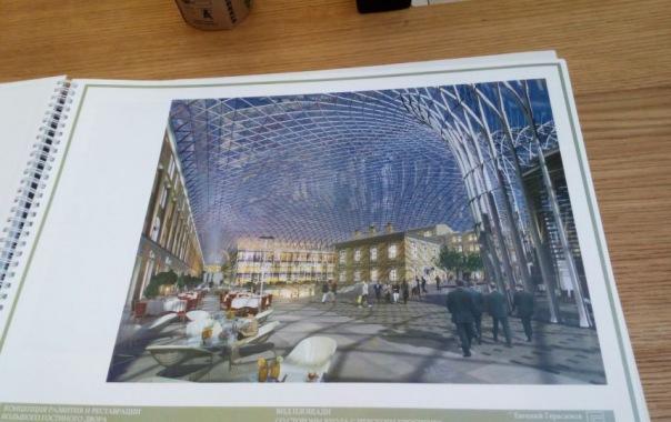 Глава Минстроя РФ одобрил проект реконструкции Большого Гостиного Двора