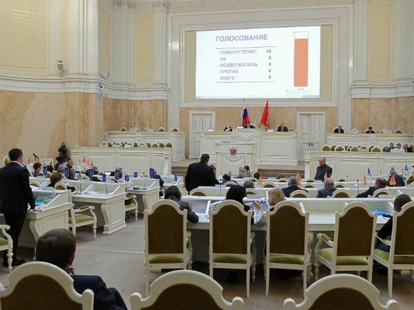 ЗакС Петербурга утвердил нарезку избирательных округов
