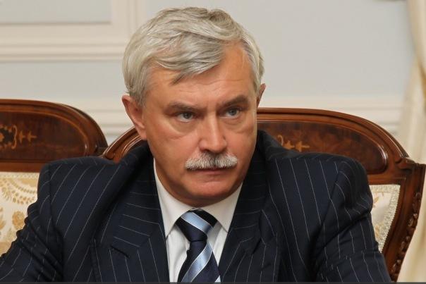 Полтавченко: индекс промпроизводства Санкт-Петербурга начал расти