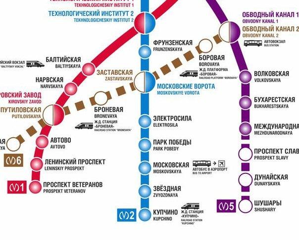 В Санкт-Петербурге началось строительство шестой линии метро