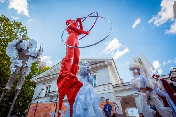 VI Международный фестиваль уличных театров Елагин парк