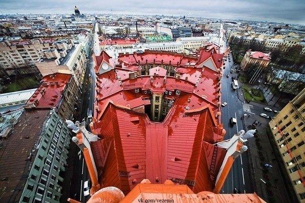 25 способов полюбоваться на Петербург с высоты