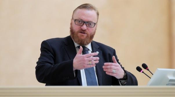 Депутат Милонов может принять участие в выборах в Госдуму