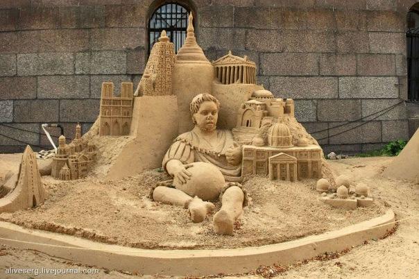 XV Международный фестиваль песчаных скульптур