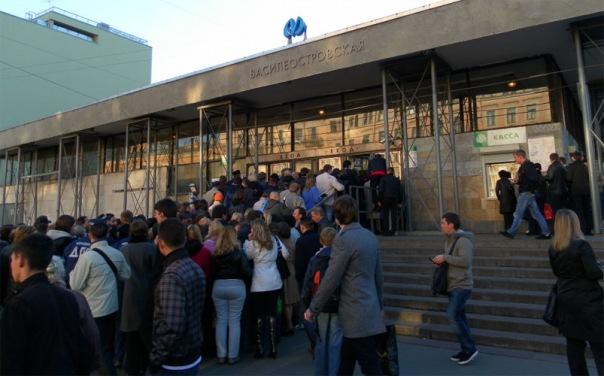 Станцию Василеостровская откроют на День города