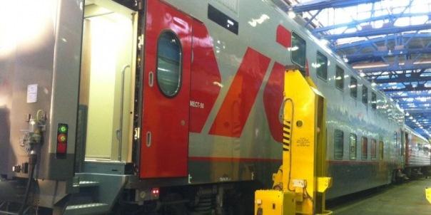 Двухэтажные поезда из Петербурга в Адлер поедут с 28 мая
