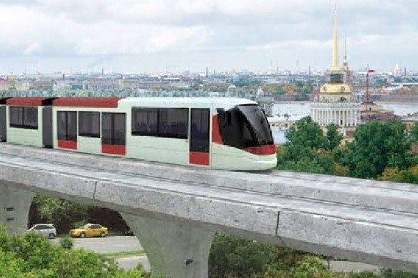 Власти города хотят проложить маршрут легкорельсового трамвая до Петергофа