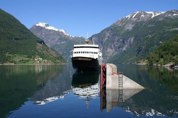 Из Петербурга к норвежским фьордам будут ходить паромы