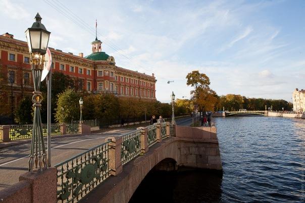 В Петербурге спасён человек, тонувший в Фонтанке