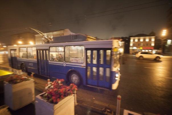 Общественный транспорт в Петербурге перейдет на круглосуточный режим работы