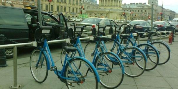 Городской велопрокат в Петербурге может заработать с 9 мая