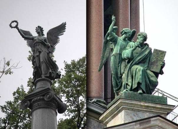 Семь ангелов Петербурга