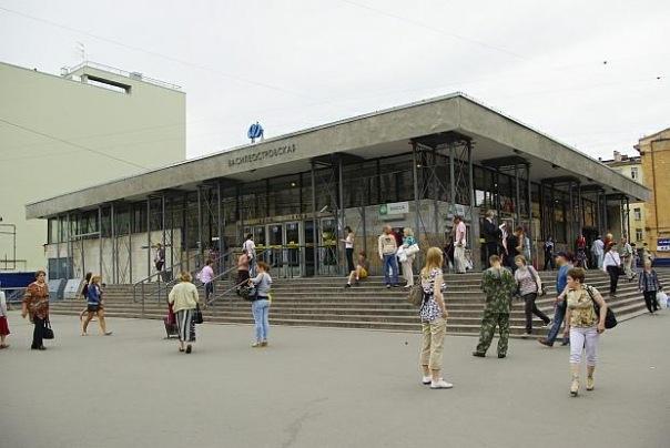 Ремонт на станции Василеостровская закончится на месяц раньше