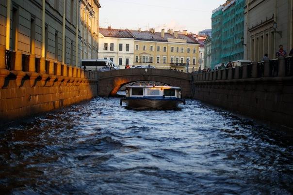По Обводному каналу будут ходить речные трамвайчики