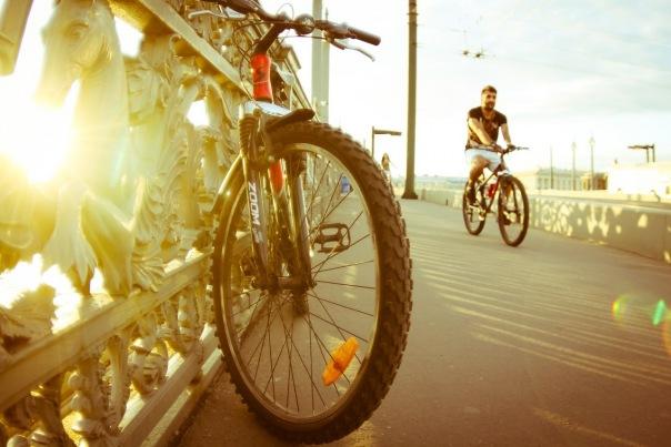 30 километров новых велодорожек проложат в городе в 2016 году