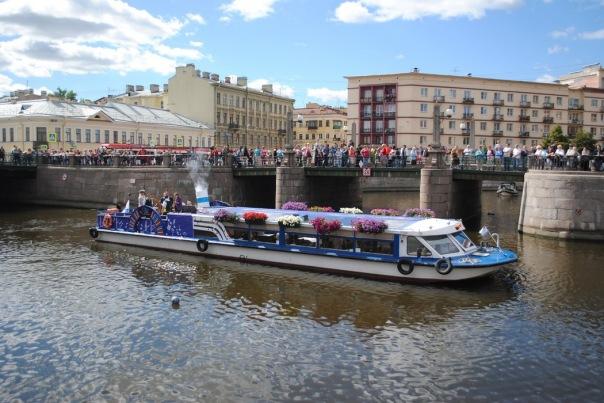 3 июля в Петербурге пройдет Речной карнавал