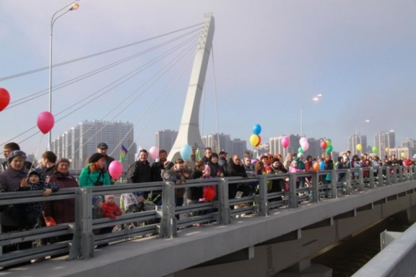 Около 1,4 тыс. подписей собрано на митинге против моста Кадырова