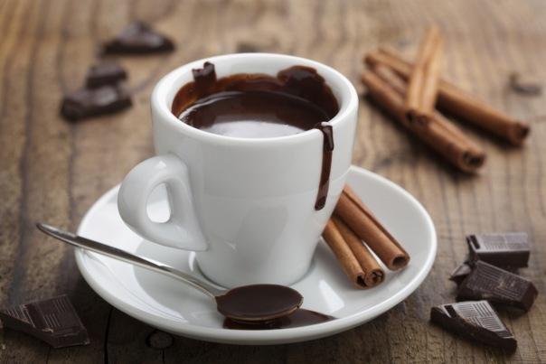 Где попить вкусного горячего шоколада и какао