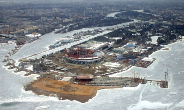 Строительство Новокрестовской отстает от условленных сроков