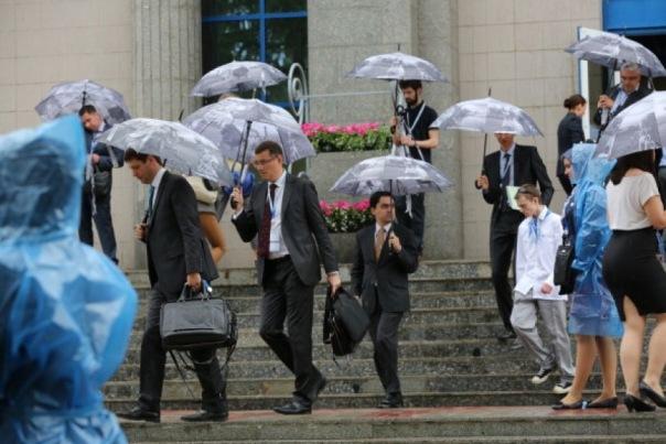 Петербург и Ленобласть в пятницу ждут дожди