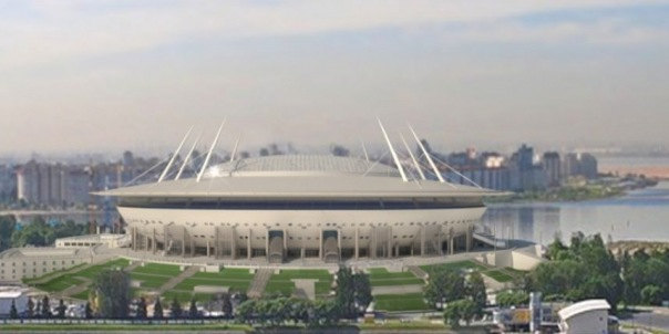 Сенаторы проинспектируют стройку стадиона на Крестовском острове