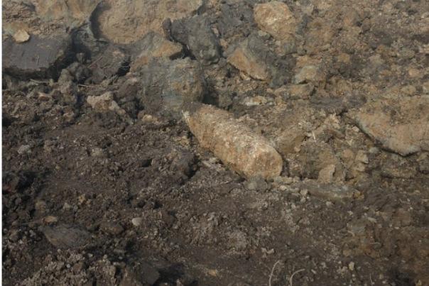 Минометную мину времен ВОВ нашли в Колпино