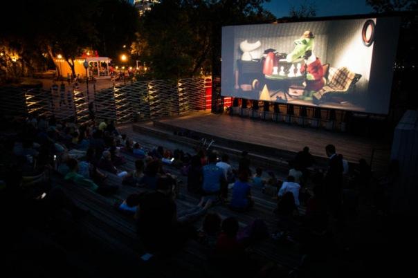 Крупнейший бесплатный кинопоказ под открытым небом