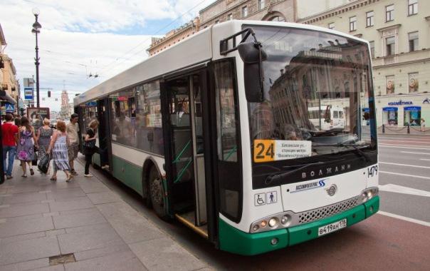В автобусах Петербурга с 1 августа появятся юбилейные билеты