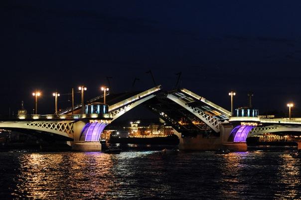 В Петербурге в июле на 2 ночи изменят график разведения Благовещенского моста