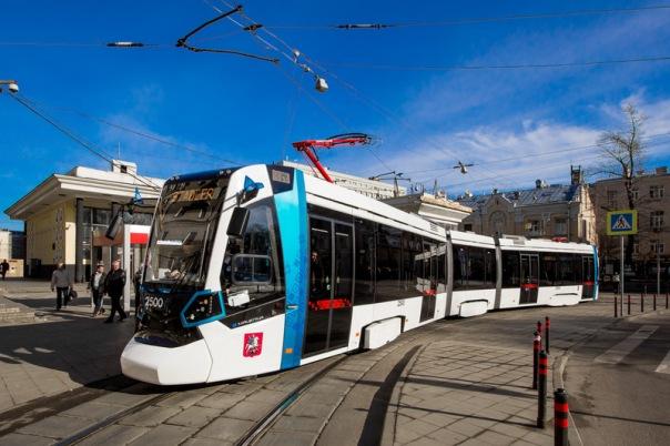По городу будут ходить современные швейцарские трамваи