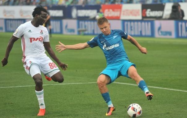 Зенит и Локомотив сыграли вничью в первом туре российской Премьер-лиги