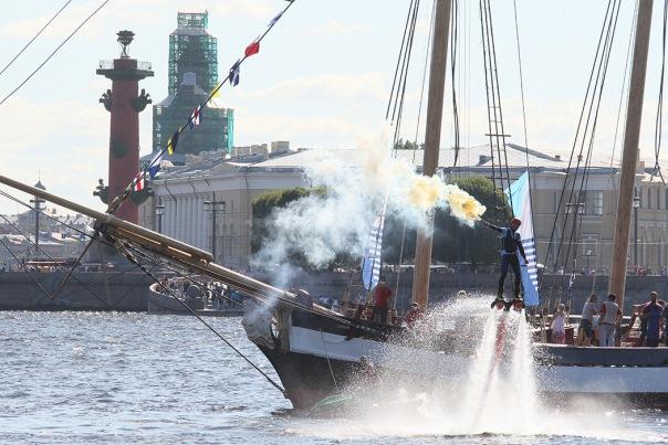 Санкт-Петербургский международный морской фестиваль начнётся 13 августа