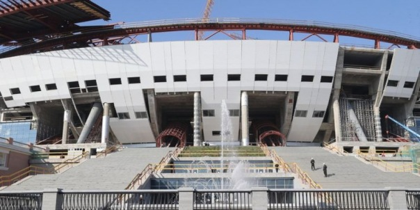 Стадион Зенит-Арену достроит Метрострой