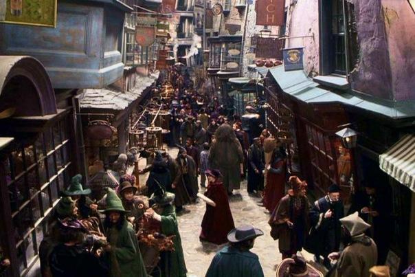 В городе появится Косой переулок с магическими лавками и совариумом