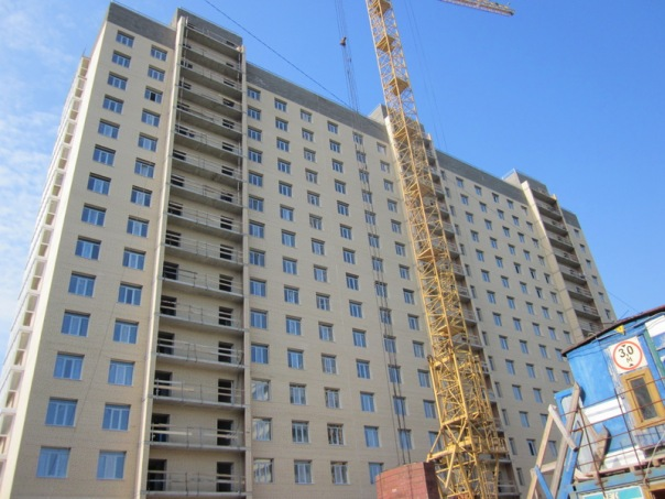За полгода в Петербурге и пригородах реализовано 2 млн. кв. м. жилья