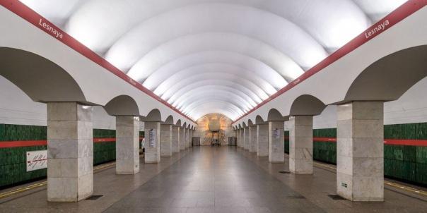 Станцию метро Лесная закроют на 11 месяцев на ремонт