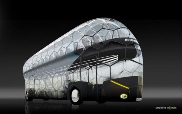 В Петербурге разработали прозрачные автобусы к Чемпионату мира по футболу