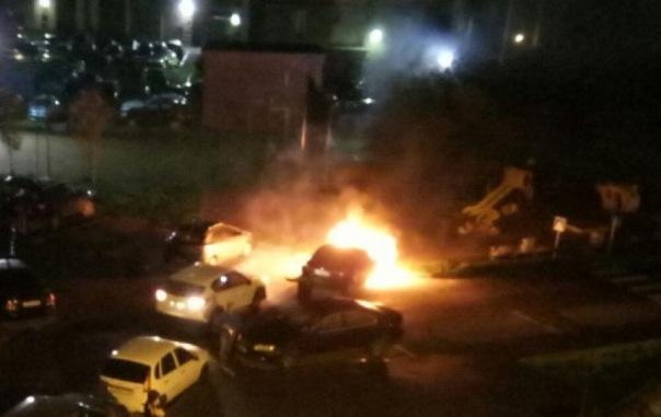В Петергофе работник сжёг машину экс-работодателя за невыплату зарплаты