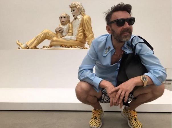 Сергей Шнуров откроет в Петербурге персональную выставку