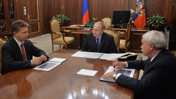 Полтавченко доложил Путину о завершении строительства центрального участка ЗСД
