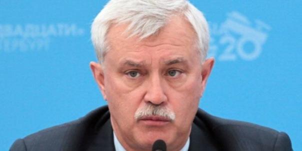 Губернатор Петербурга предложил снизить себе зарплату