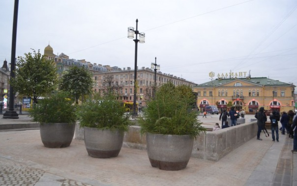 Сенная площадь может преобразиться за счет благотворительности Газпрома