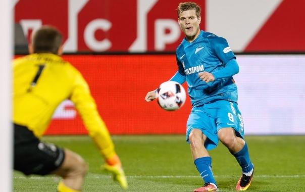 Зенит Маккаби 2:0: Кокорин забил четвёртый гол в Лиге Европы